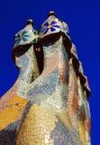 住处Batlo - Gaudi 免版税库存图片
