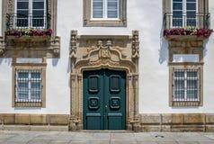 住处da Carreira在维亚纳堡,葡萄牙 库存图片