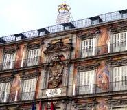 住处de la Panaderia 马德里市长广场 西班牙 免版税库存照片