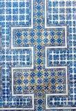住处de los Azulejos墙壁 库存照片