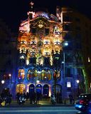 住处Gaudi在巴塞罗那 免版税库存图片