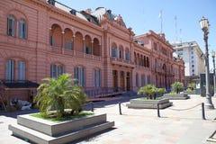住处Rosada在五月广场,布宜诺斯艾利斯,阿根廷 免版税图库摄影