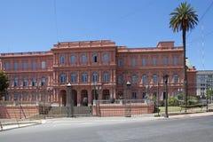 住处Rosada在五月广场,布宜诺斯艾利斯,阿根廷 库存照片