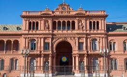 住处Rosada在布宜诺斯艾利斯 免版税库存图片