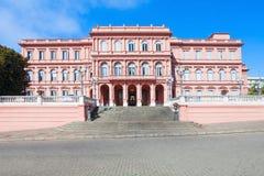 住处Rosada桃红色议院 免版税库存图片