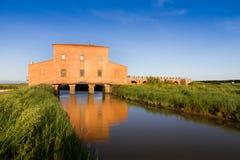 住处Rossa Ximenes在托斯卡纳,意大利 免版税库存图片