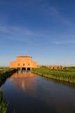 住处Rossa Ximenes在托斯卡纳,意大利 免版税图库摄影