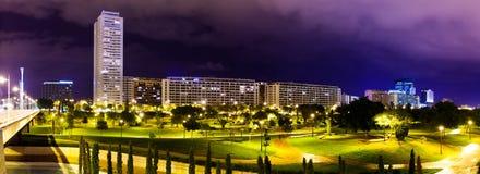住宅区全景。巴伦西亚,西班牙 免版税库存图片