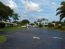 住宅发展南佛罗里达 库存照片