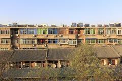 住宅在xian古城 免版税库存照片