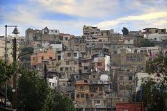 住宅处所在的黎波里,黎巴嫩 免版税库存图片