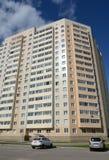 住宅复杂` Kokoshkino `在莫斯科解决Kokoshkino新莫斯科斯克管理区域的中心  库存照片