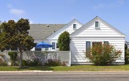 住宅家在洛马角加利福尼亚。 免版税库存图片