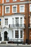 住宅房子在伦敦 免版税库存图片
