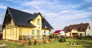 住宅房子 图库摄影
