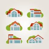 住宅房子 免版税图库摄影