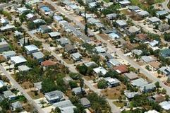 住宅的佛罗里达 库存照片