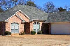 住宅的房子 免版税库存图片