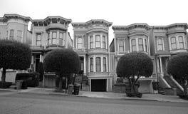 住宅的旧金山 免版税库存照片