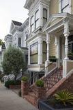 住宅的旧金山 图库摄影