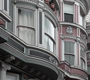 住宅的旧金山 库存图片