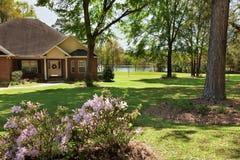 住宅议院在北部佛罗里达 免版税库存照片