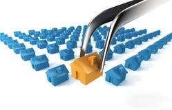住宅选择 免版税图库摄影