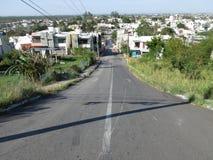 住宅邻里在韦拉克鲁斯墨西哥 库存照片