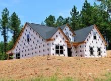 住宅建设在Bogart乔治亚 图库摄影