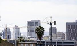住宅Bu的建筑 免版税图库摄影
