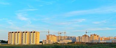 住宅microdistrict的建筑 库存图片