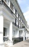 住房伦敦灰泥 免版税库存图片