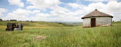 住房在南非 免版税库存图片