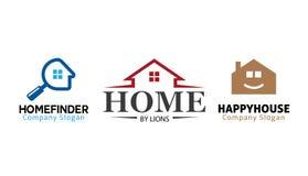 住房标志 免版税库存图片