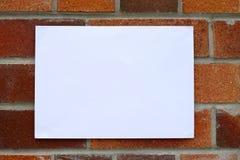 住房通知单 库存照片