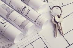 住房建造计划 免版税库存图片