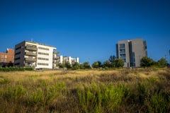 住所区域在Sant Cugat del Valles在巴塞罗那 免版税库存图片