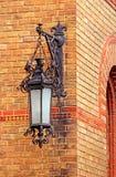 住所Bukovinian和达尔马希亚城市居民,现在一部分灯笼的切尔诺夫策大学 免版税图库摄影
