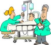住院病人 免版税库存照片