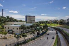 佐尾Jose Dos坎波斯-巴西的城镇厅 免版税库存图片