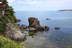 索佐波尔保加利亚 库存照片