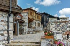 索佐波尔,保加利亚- 2016年7月16日:古老废墟在索佐波尔,布尔加斯地区老镇  免版税库存照片