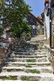 索佐波尔,保加利亚- 2016年7月16日:索佐波尔,布尔加斯地区老镇  库存图片