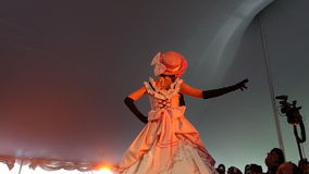 2014年佐仓Matsuri节日Cosplay时装表演4 免版税库存照片