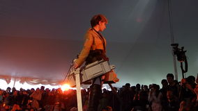 2014年佐仓Matsuri节日Cosplay时装表演17 免版税图库摄影