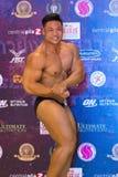 体型冠军肌肉 图库摄影