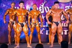 体型冠军肌肉 免版税库存照片