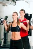 体操私有培训人妇女 库存图片
