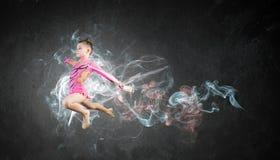 体操运动员女孩 图库摄影