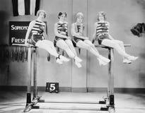体操运动员(所有人被描述不更长生存,并且庄园不存在 供应商保单将没有式样releas 免版税图库摄影